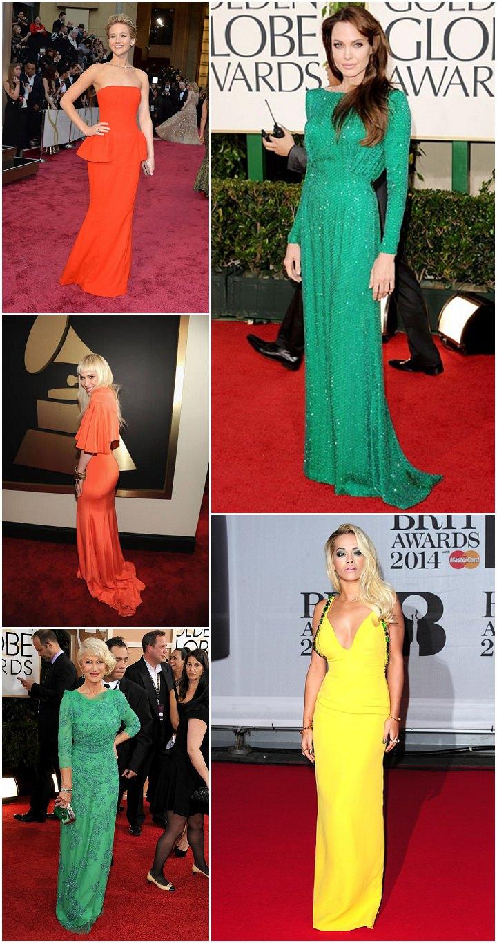 colour awards dresses