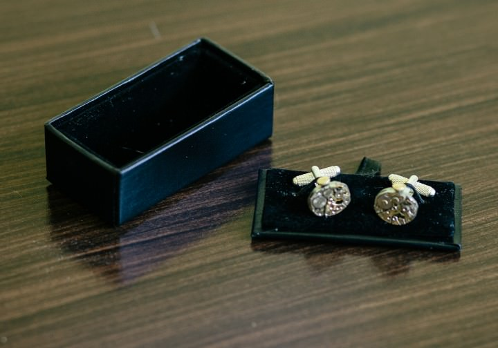 1 Time Tailored cufflinks