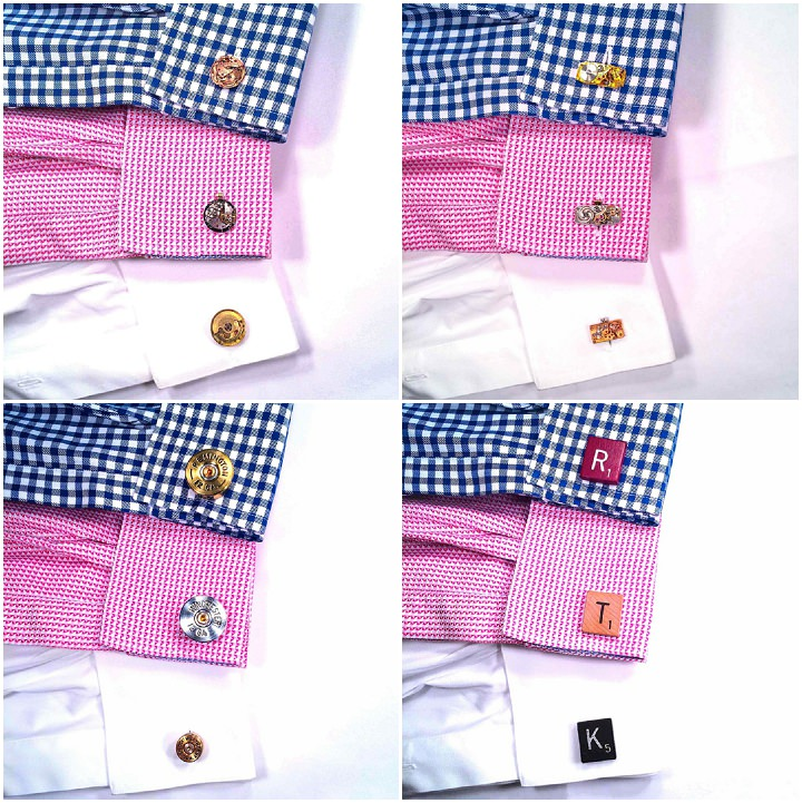 10 Time Tailored cufflinks