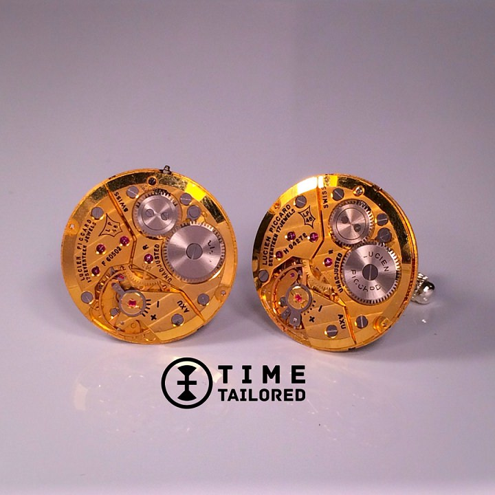 3 Time Tailored cufflinks