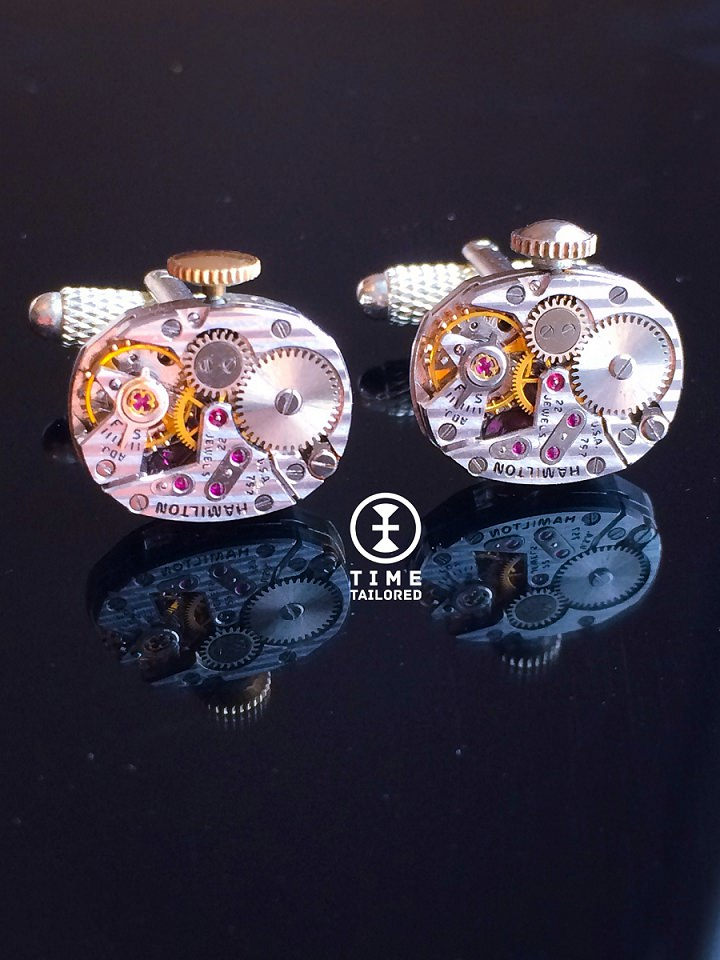 4 Time Tailored cufflinks