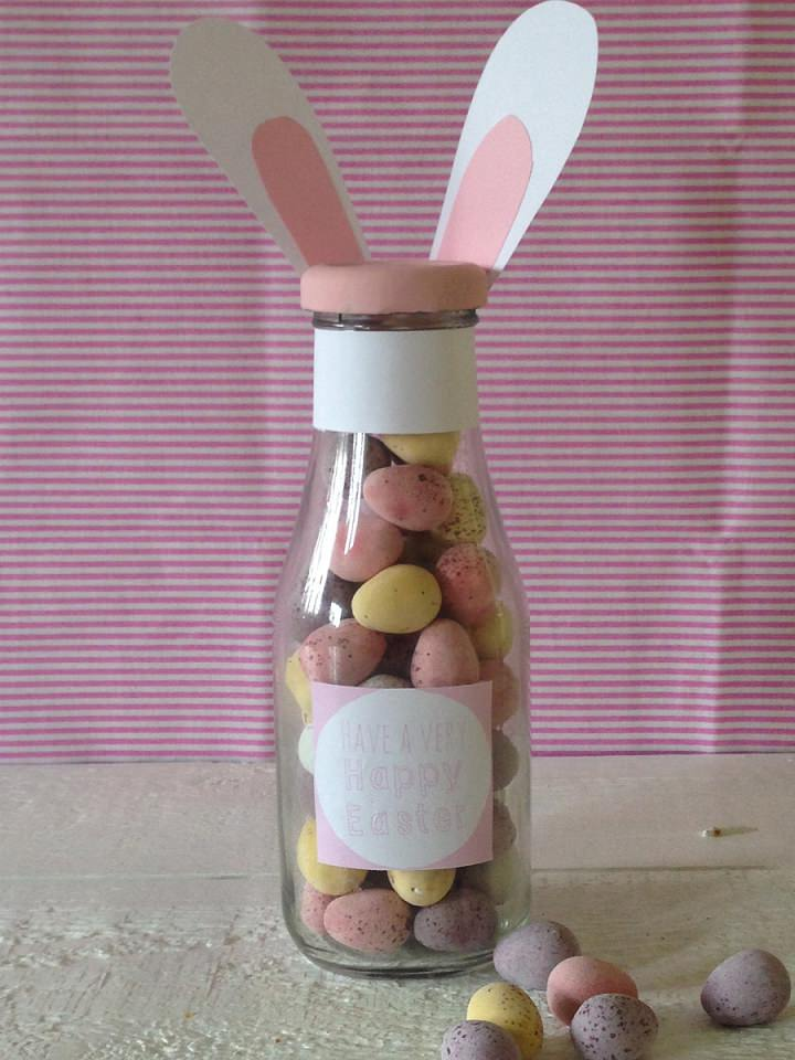 bunny bottles DIY
