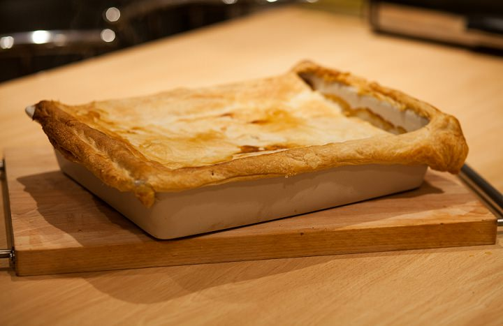 chicken, leek and bacon pie-8