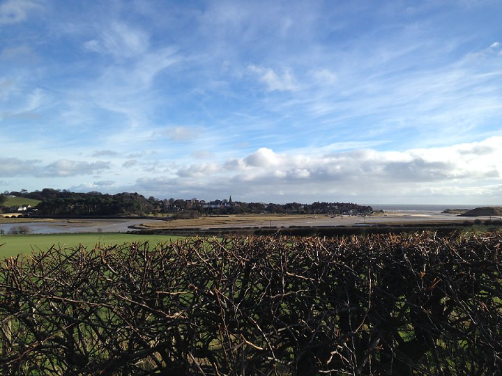 Northumberland - View of Alnmouth