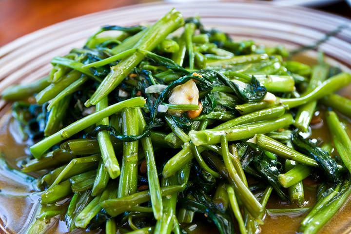 stirfried greens