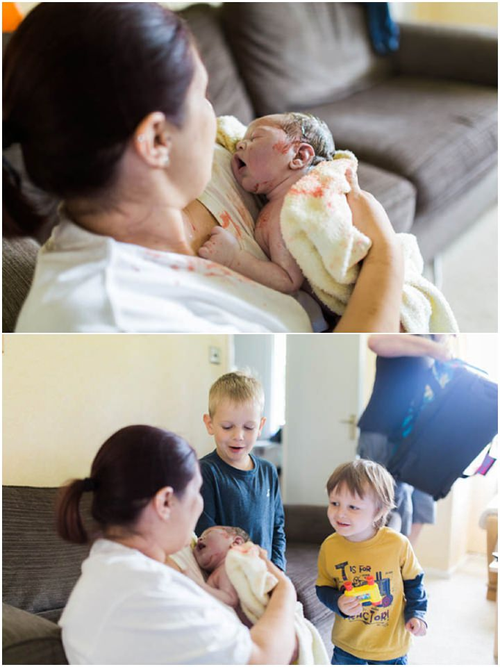 Real Families - Birth Photography