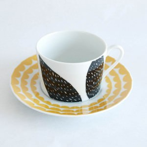 T Cup and Saucer