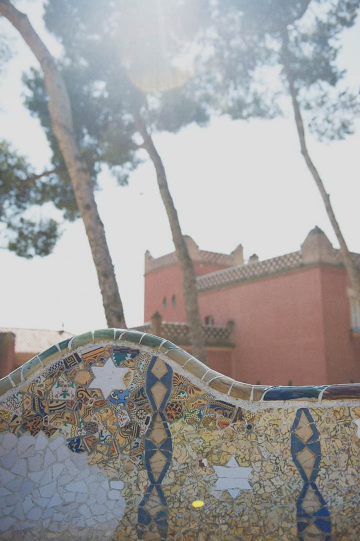 Barcelona Parc Guell Gaudi Plants by Rebecca Douglas Photography 49