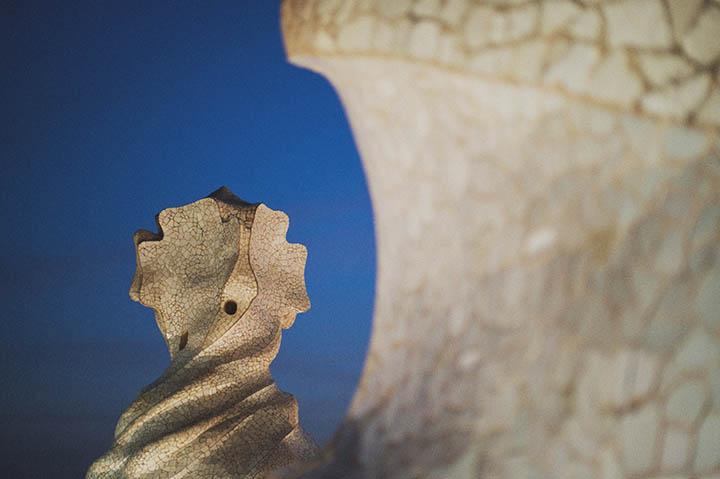 Casa Mila La Pedrera Gaudi Barcelona by Rebecca Douglas Photography 96