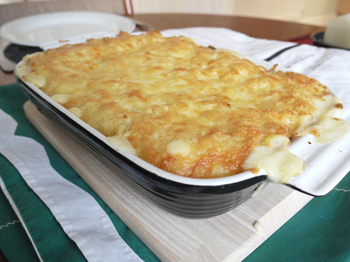Cheesy Fish Pie.  The loveliest Food.  Recipe Ideas for Winter