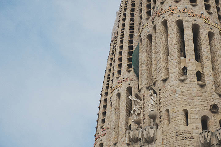 Sagrada Familia Gaudi Barcelona by Rebecca Douglas Photography 1