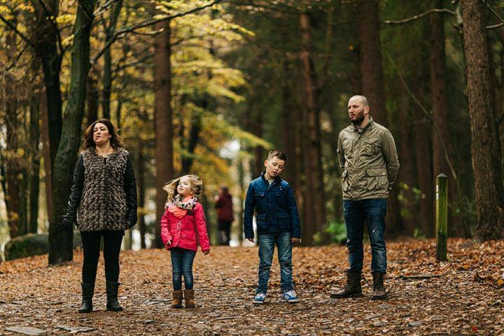 The Westfalls family portraits photography at St Ives near Bingley.