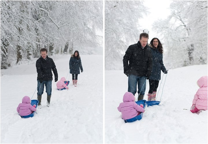 Family Shoot in the snow by Alex Knight Photography_0002