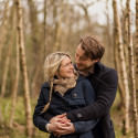 Anneka + David's pre wedding photography at Broughton Hall estate near Skipton.