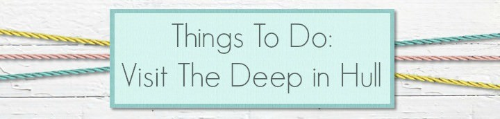 things to do - visit the Deep in Hull
